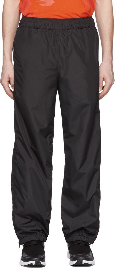 McQ - Alexander McQueen Black Zippy Gathered Track Pants