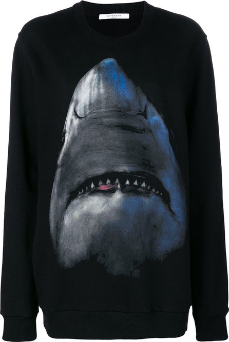 Givenchy Shark jersey sweater