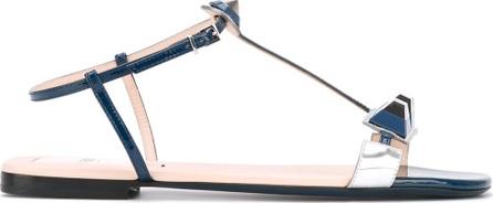 Fendi embellished T-bar sandals
