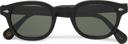 Moscot Lemtosh Round-Frame Matte-Acetate Sunglasses