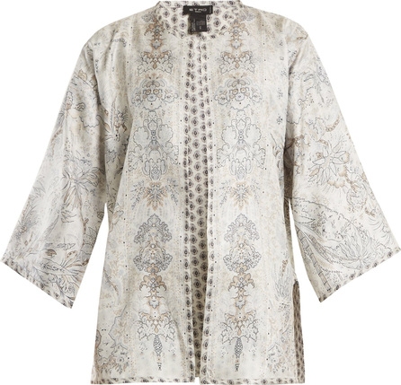 Etro Reversible floral-print silk-twill jacket