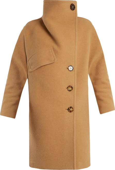 Acne Studios Ciara funnel-neck wool-blend coat