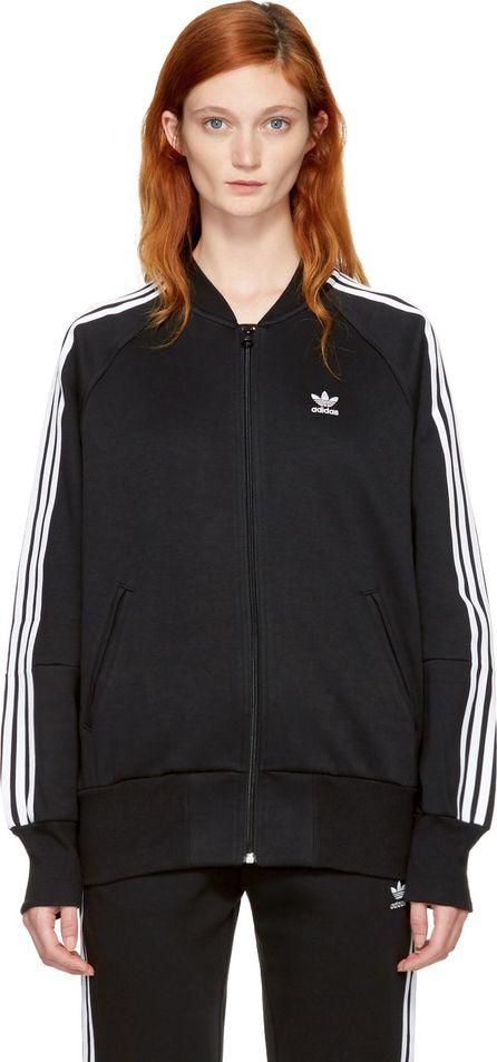 Adidas Originals Black 3-Stripes Track Jacket