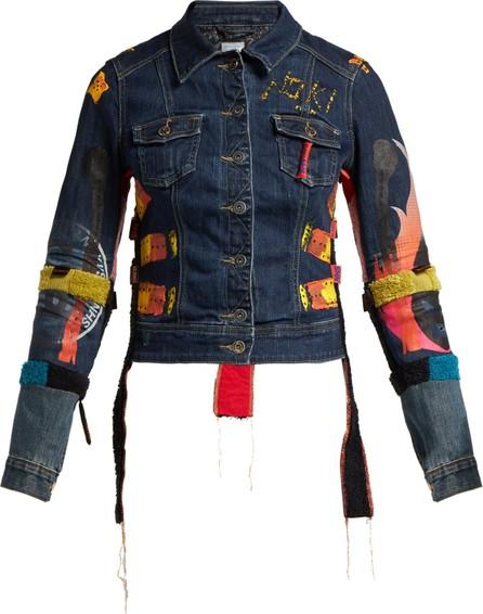 Noki Denim Gang painted denim jacket
