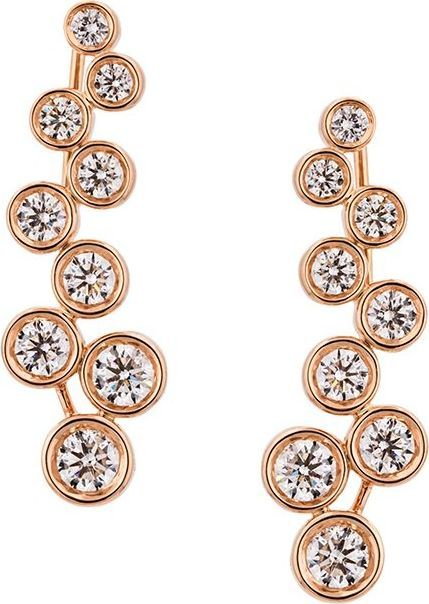 Alinka large 'SASHA' diamond slider earrings