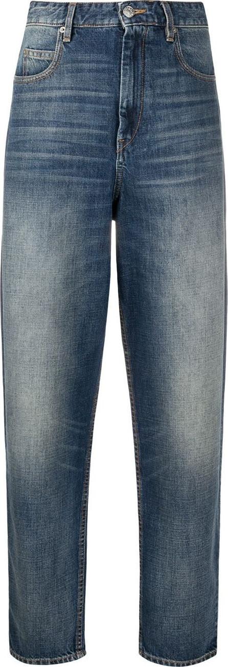 Isabel Marant Etoile High rise straight-leg jeans