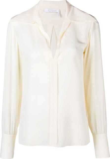 Chloe Wide lapel shirt