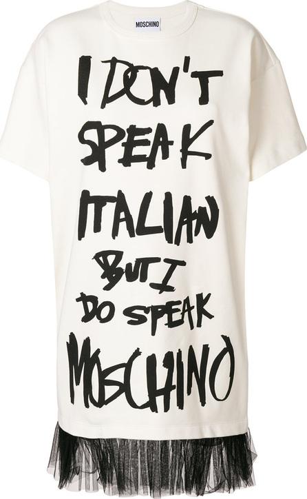 Moschino Graffiti print T-shirt
