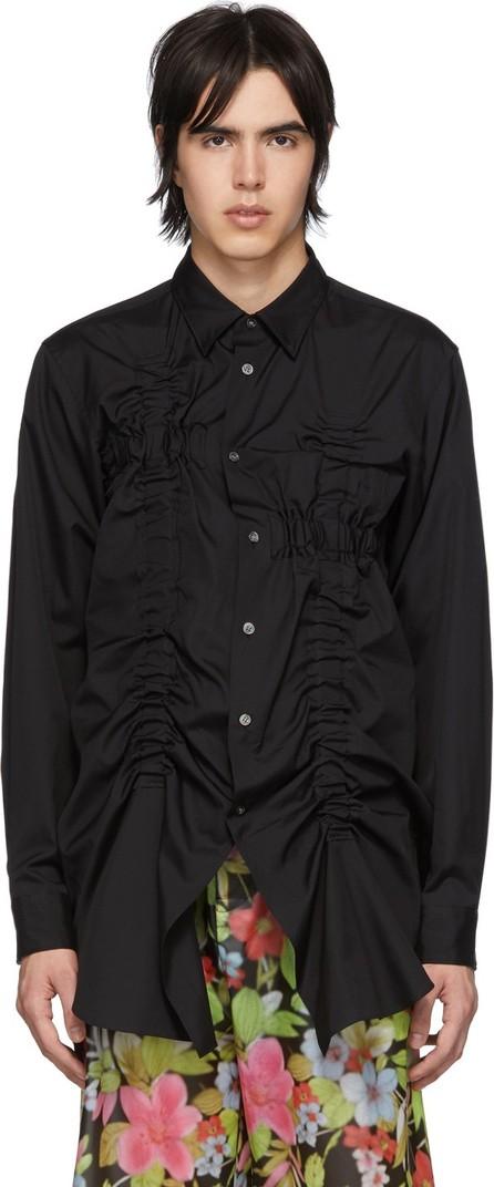 Comme Des Garçons Homme Plus Black Bunched-Up Shirt