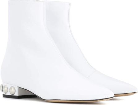 Ellery Embellished leather ankle boots