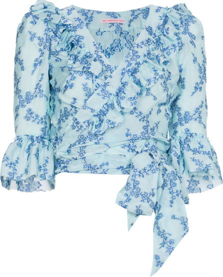 The Vampire's Wife Floral Print Top