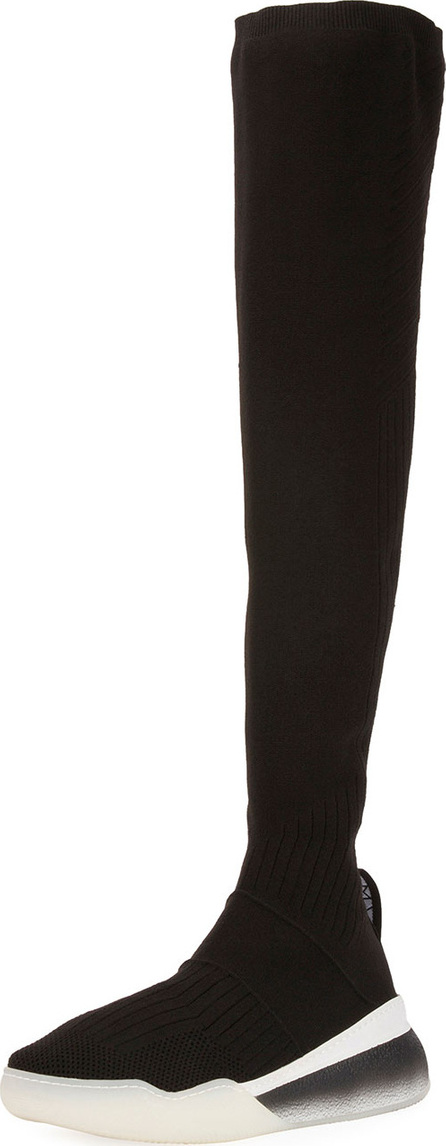 Stella McCartney Over-The-Knee Stretch Sneaker Boot