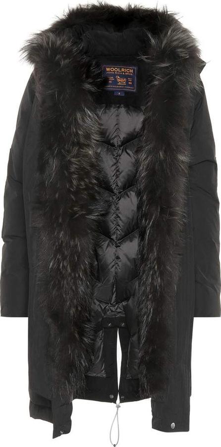 Woolrich Fur-trimmed down jacket