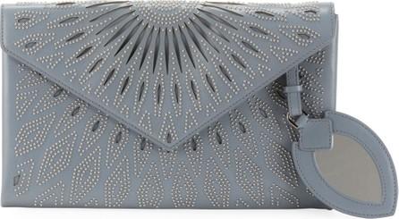 Alaïa Beaded Laser-Cut Clutch Bag
