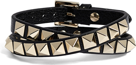 Valentino GARAVANI No Limit Rockstud Leather Wrap Bracelet