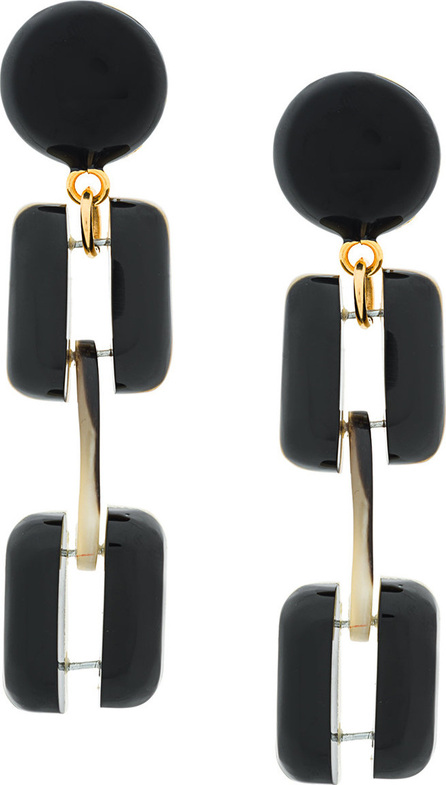 Marni Chunky clip-on earrings