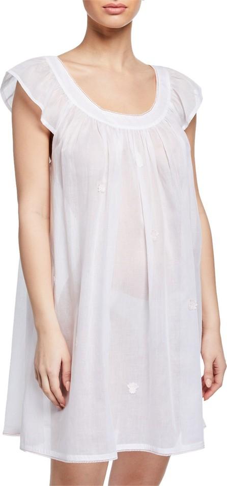 Celestine Saphira Scoop-Neck Cap-Sleeve Babydoll Nightgown