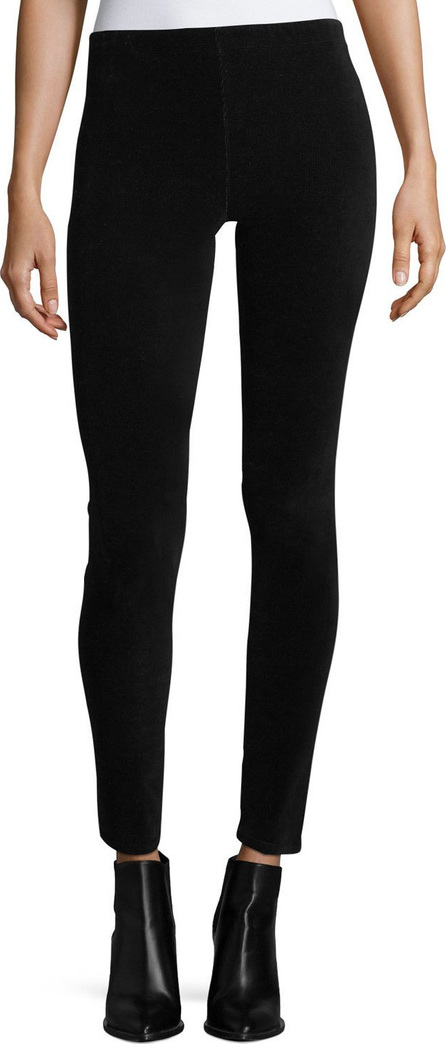 Stretch-Corduroy Full-Length Leggings