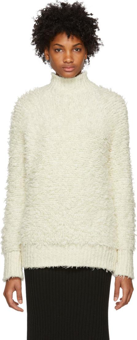 Marni White Virgin Wool Turtleneck