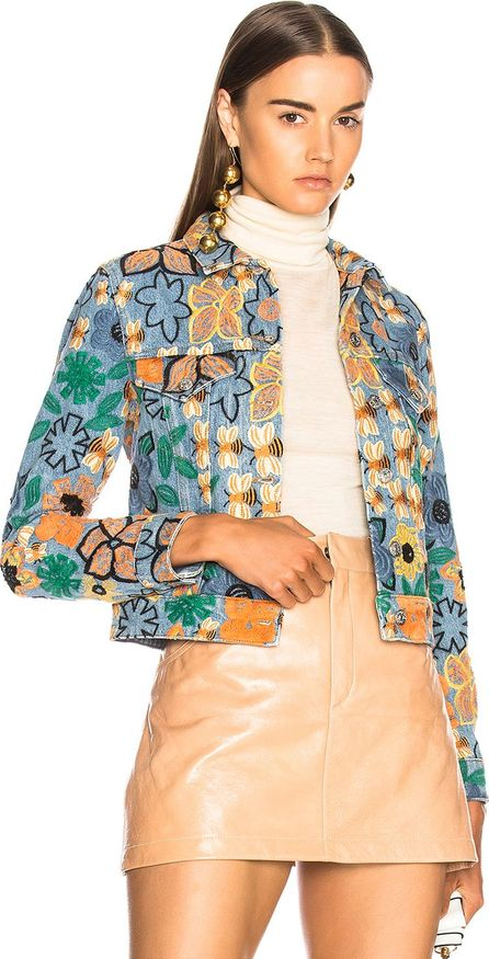 Acne Studios Chea Embroidered Jacket