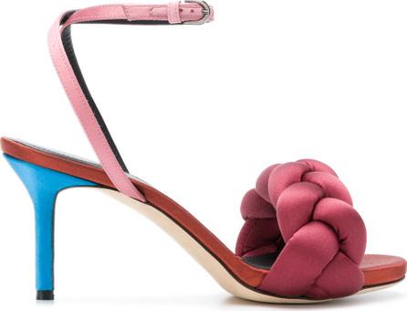 Marco De Vincenzo Braided strap sandals