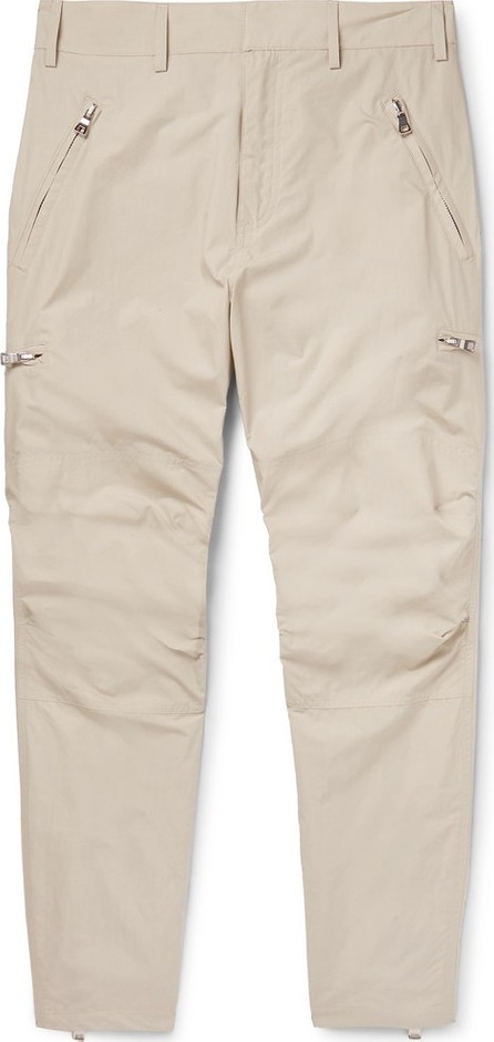 Balmain Tapered Cotton Trousers