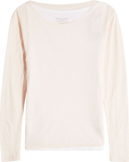 Majestic Jersey Top with Cashmere