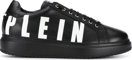 Philipp Plein Logo lace-up sneakers