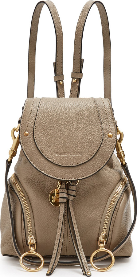 See By Chloé Olga grained-leather backpack