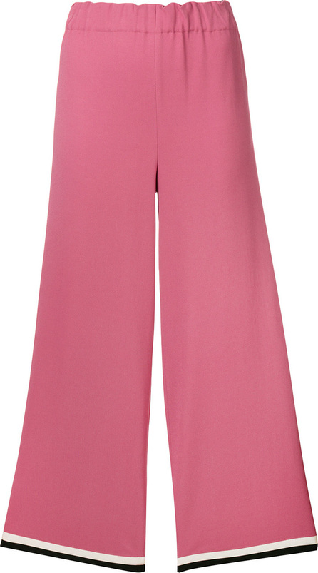 Gucci Grosgrain trim cropped trousers