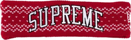 Supreme X New Era arc logo head band