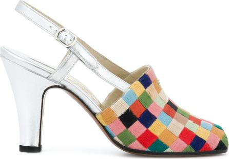 Salvatore Ferragamo Patchwork design sandals