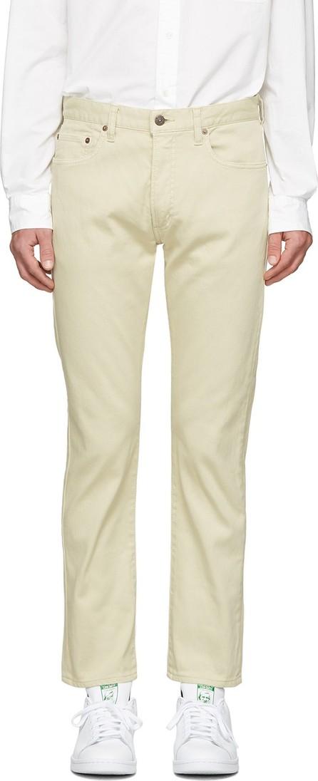 Beams Plus Beige Corduroy Trousers
