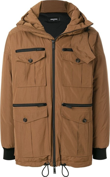 DSQUARED2 Hooded parka jacket