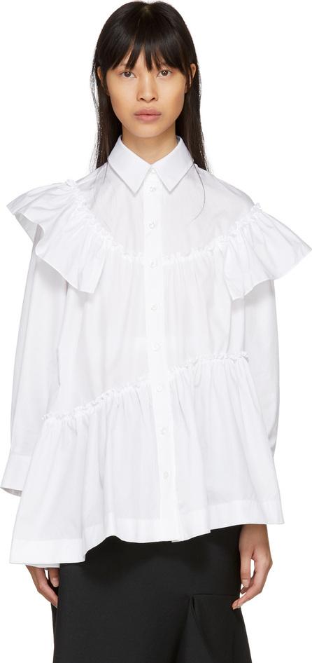 Simone Rocha White Frill Shirt