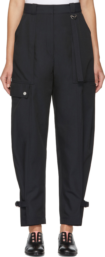 3.1 Phillip Lim Navy Utility Cargo Trousers