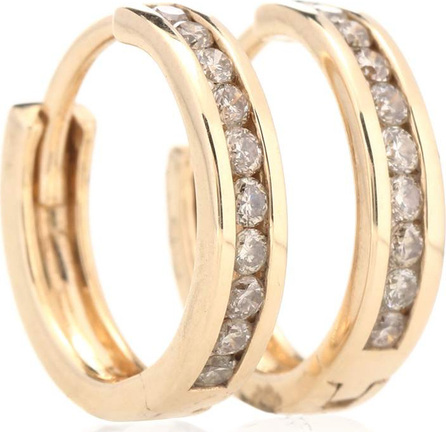 Anna Sheffield Licol 14kt gold and diamonds earrings
