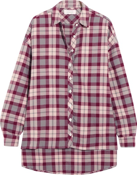 THE GREAT. The Big checked cotton shirt