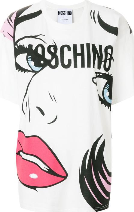 Moschino Crying portrait T-shirt