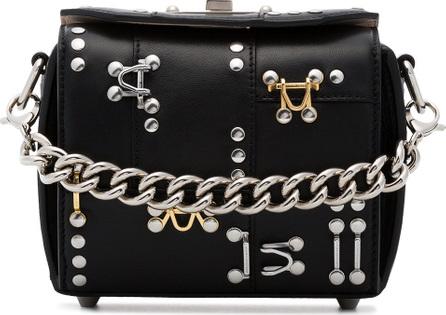 Alexander McQueen Black Box 16 studded leather cross-body bag