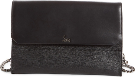 Christian Louboutin Loubiblues Calfskin Leather Clutch