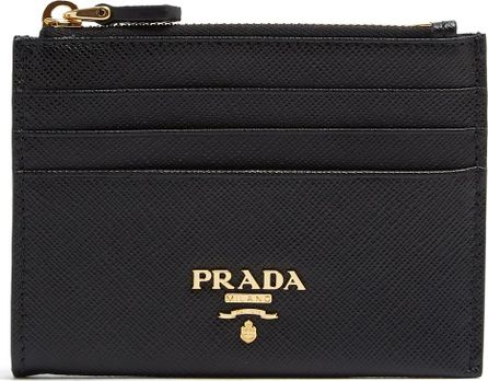Prada Saffiano-leather cardholder