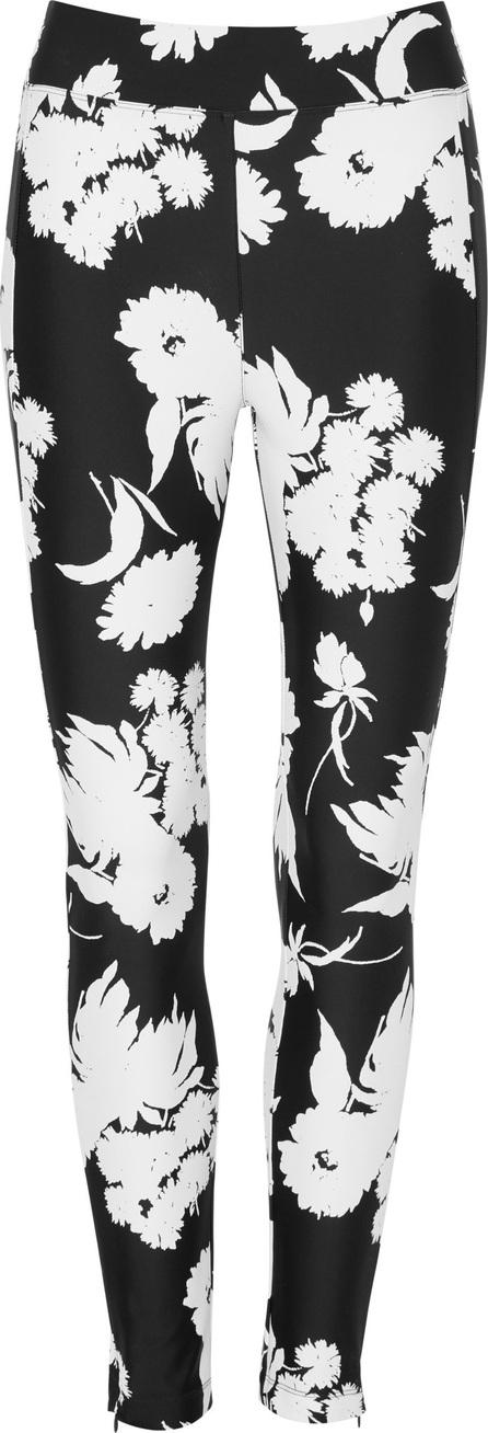 Ganni Alameda Floral-Print Stretch-Knit Skinny Pants