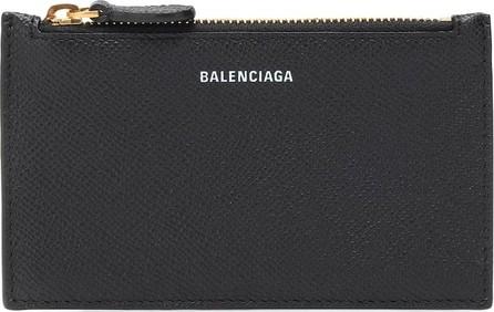 Balenciaga Ville Long leather card holder