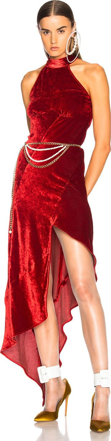 Attico Valice Tank Top Dress