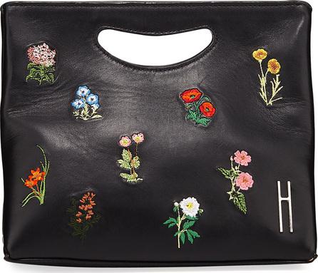 Hayward 1712 Basket Napa Embroidered Clutch Bag