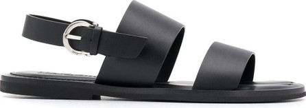 Salvatore Ferragamo Gancini leather sandals