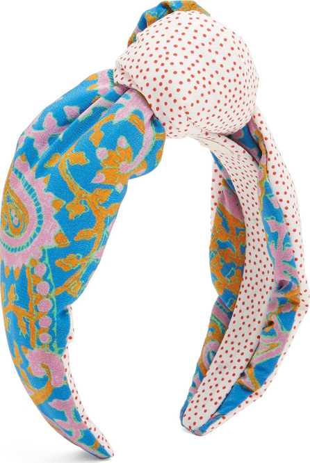 FIGUE Loulou Bahia Beach-print headband