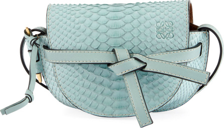 LOEWE Gate Mini Python Shoulder Bag