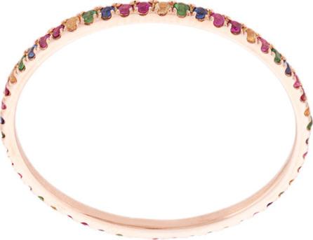 Zofia Day Rainbow eternity ring